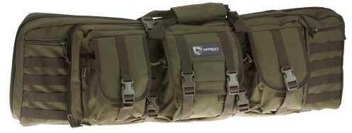 "Drago Gear Tactical Double Gun Case 42"" 600D Polyester Green 12-323GR 12323GR"