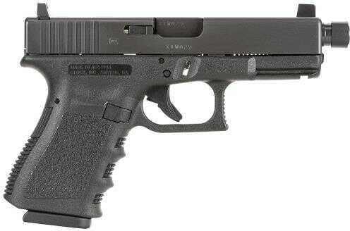 """Pistol Glock G19 Standard DAO 9mm Luger 4"""" TB10+1 FS Integral Grip Black PI1950201TB"""