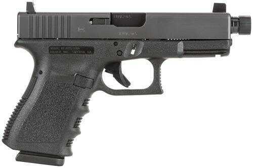 "Glock G23 40 S&W Standard Threaded Barrel DA Only  4"" Barrel 13+1 Rounds Integral Grip Black Frame Semi Automatic Pistol    PI2350203TB"