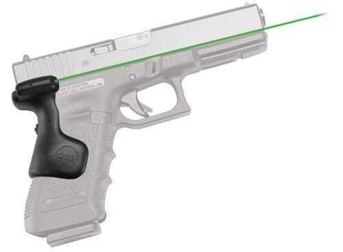 Crimson Trace Crimson Lasergrip Glock Gen3 Green Laser Glock 17/17L/22/31/34/35 Grip LG637G