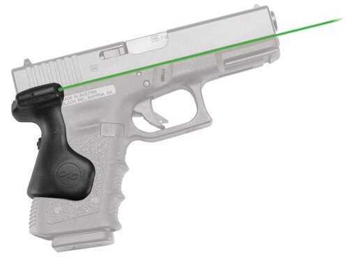 Crimson Trace Crimson Lasergrips Glock 3rd Gen Compact Green Laser Glock 19/23/25/32 LG639G