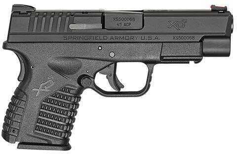 "Springfield Armory XDS 45 ACP 4"" Barrel 5/7 Round Polymer Black Semi Automatic Pistol XDS94045B"