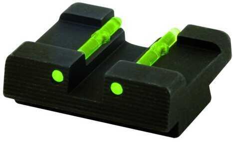 HiViz Sight Systems Hiviz Kahr Arms Rear Sight Red Dovetail Kahr Pistols Black R KA2109