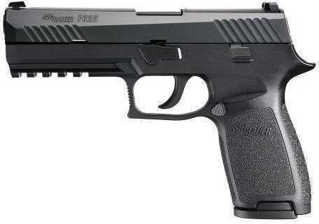 """Sig Sauer Sig P320 Full Size DAO Striker Pistol 9mm Luger 4.7"""" Barrel 17+1 Rounds CS Poly Grip/Frame Black 320F9B"""