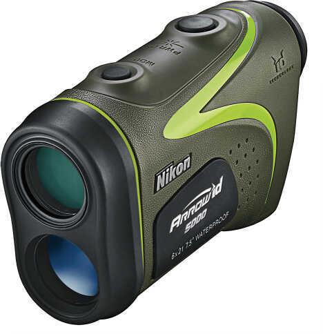 Nikon Arrow ID 5000 6x21mm Obj 5yds-600yds 18.3mm Eye Relief Black Green 16228