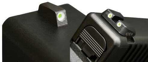 HiViz Sight Systems Hiviz SGN1268 Tritium NiteSight Set Sig P Series Green w/White