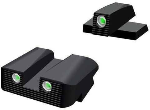 "HiViz Sight Systems Hiviz XDN121 Tritium Nitesight Set Springfield XD/XD(M) (Not 5.25"") Grn w/White"