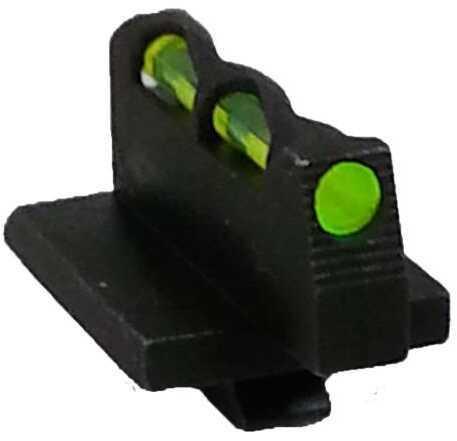HiViz Sight Systems Hiviz GPLW01 Litewave Ruger GP100 Fiber Optic Green/Red/White Blac
