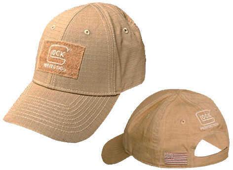 Glock Perfection Agency Hat Adj Velcro Closer Ripstop Nylon Khaki AP70216