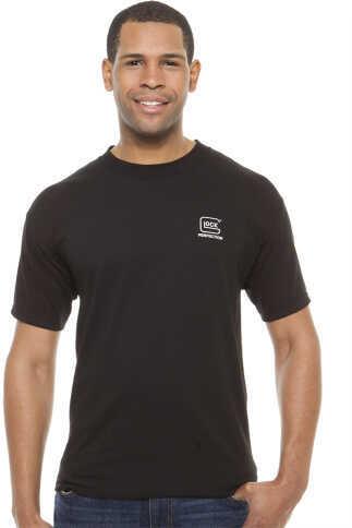 Glock Short Sleeve Perfection T-Shirt X-Large Cotton Black AA11002