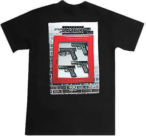 Glock In Case of Emergency T-Shirt Medium Cotton Gray Short Sleeve AA10056