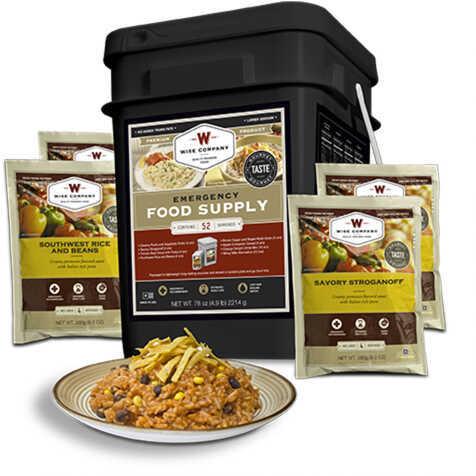 Wise Foods Prepper Pack Emergency Meal Kit Bucket 01-152