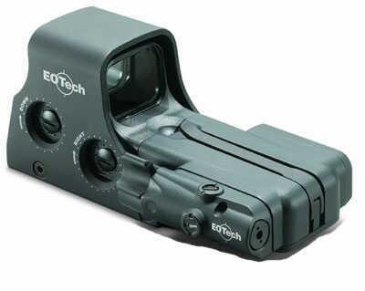 EOTech 512LBC Model 512 w/ Laser Battery Cap 1x Red Dot Black
