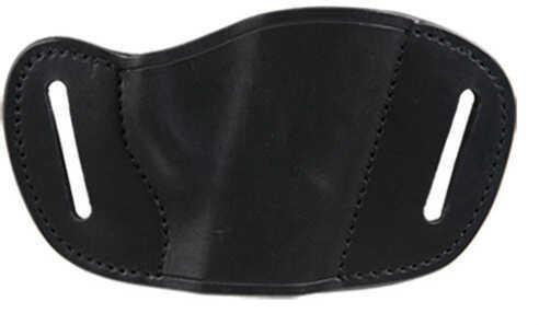 Bulldog Cases Bulldog Belt Slide Small Automatic Handgun Holster Right Hand Leather Black MLBS