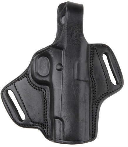 "Bulldog Cases Bulldog Dlx Molded Revolver Hlstr w/Thumb Break 2"" Barrel RH Sm Leather Bl LMHRS"