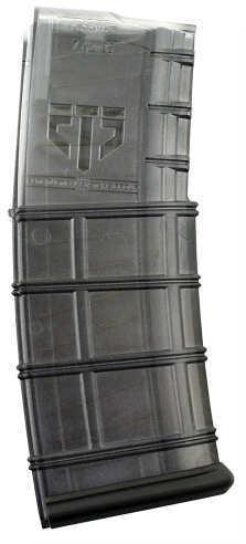 ETS GROUP AR-15 Magazine 223/5.56 30Rd Translucent Black Finish AR1530