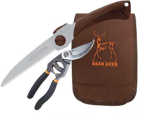 """Dead Deer Folding Hand Saw/Cutters Combo 6.5"""" Saw Blade w/ Pouch DSCC"""