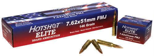 Century Arms Hot Shot Elite 7.62x51mm 146 GR Full Metal Jacket (Per 20) AM1966