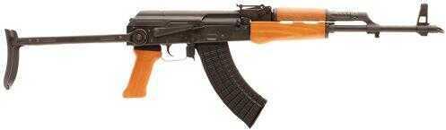 """Blackheart Firearms Rifle Blackheart SAAK.762R AK63D SA 7.62X39 16.5"""" 30+1 Underfolding Stock Black BHI762101"""