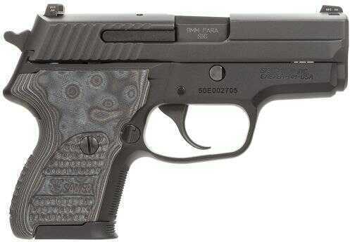 "Sig Sauer P224 Extreme 40 S&W SA/DA Actions 3.5"" Barrel 10+1 Rounds Hogue Piranha Grip Black Finish Semi-Automatic Pistol E2440XTMBLKG"