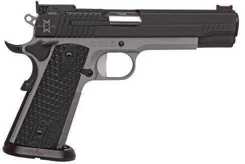 "Pistol Sig Sauer 1911 Max SAO 40 S&W 5"" 8+1 Black G10 Grip Stainless Steel Frame Black 191140MAXM"
