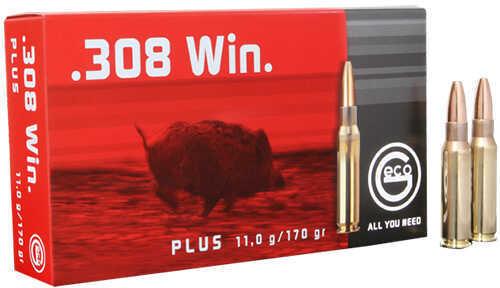 Ruag Ammotec 308 Winchester Plus 170Gr 20 Rounds Per Box 280540020