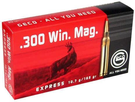 Ruag Ammotec 300 Winchester Magnum Express 165Gr 20 Per Box 280840020