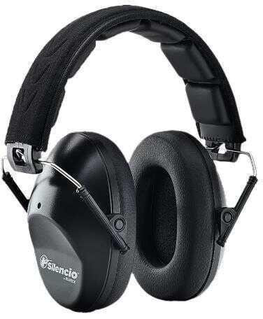 Silencio HB10SlimSIL Sonic Slim Earmuff 21 Db Black