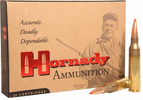 Hornady Match Grade 338 Lapua Ammo 285gr AMAX 20 Rounds Ammunition 82301