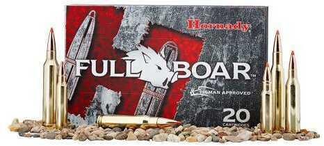 Hornady 308 Winchester 165 Gr GMX Full Boar (Per 20) Md: 80987