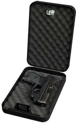 Bulldog Cases Bulldog Black Personal Key Lock Vault TSA Approved 18 Gauge Steel BD1121