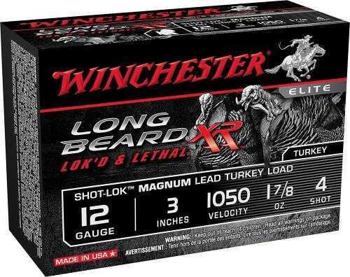 "Winchester Long Beard XR 12 Gauge 3"" 1-7/8 oz 4 Shot 10Box/10Case STLB123M4"