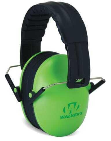 Walker's Game Ear / GSM Outdoors Walkers Game Ear GWPFKDMLG Passive Baby & Kids Folding Earmuff 23 dB Green