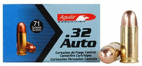 Aguila .32 Auto Ammo 71 Gr Full Metal Jacket 1E322110