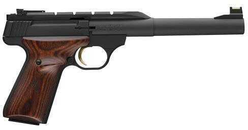 "Browning Buck Mark Hunter Semi-Auto Pistol 22 Long Rifle 7.25"" Barrel 10 Round Wood Grip Black 051499490"