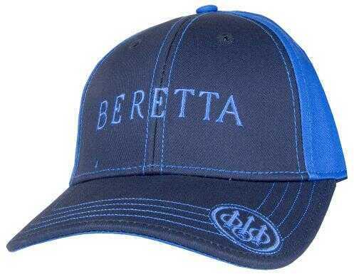 Beretta USA Sports Cap Velcro Closure Navy One Size Fits Most Cotton