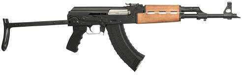 "Rifle Century Arms RI2174N N-PAP DF SA 7.62X39 16.25"" 30+1 Wood Forearm Underfold Steel Stock Blk"