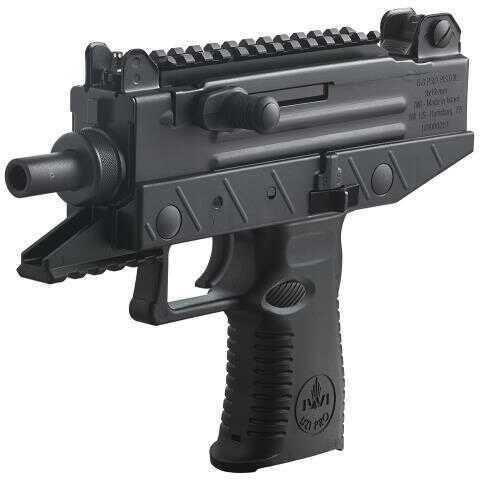 "Israel Weapon Industries IWI US Uzi Pro Pistol Semi-Auto 9mm Luger 4.5"" 20+1 Poly Grip Black UPP9S"