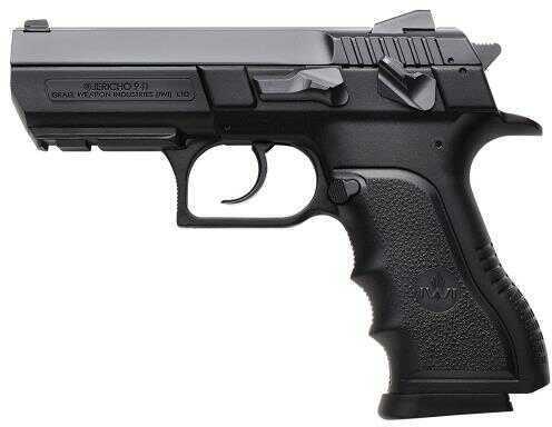 "Israel Weapon Industries IWI US Jericho PSL4 DA/SA 40 S&W 3.8"" 12+1 Black Poly Grip/Frame Black Semi Automatic Pistol J941PSL4"