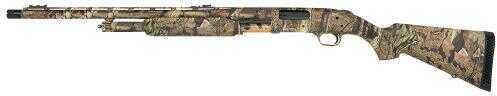 "Mossberg 500 L-Series LEFT HANDED Pump 12 Gauge Shotgun 24"" Barrel 3"" Chamber Synthetic Stock Mossy Oak Break Up Camo"