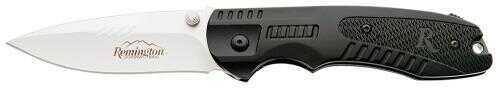 Remington 11601 Sportsman R51 Clip Point Black/Stainless Folding Knife