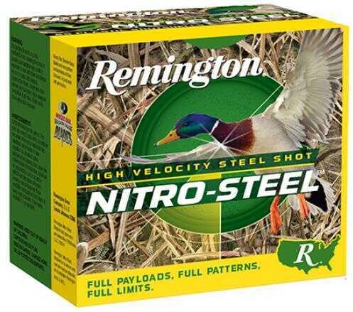 Remington 20 Gauge #4 Nitro Steel (Case Price) NS120M4