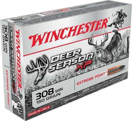 Winchester Deer Season XP 308Win 150GN Poly 20/10