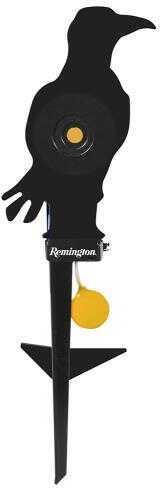 Remington Airguns 89340 Auto-Resetting Airgun Target Crow Black/Orange
