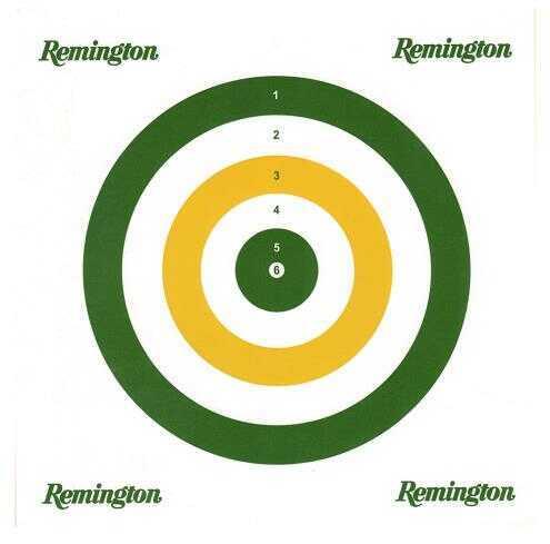 Remington Airguns 89335 Paper Airgun Targets 25 Count Lead Pellets Only