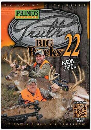 Primos PRIM TRUTH DVD 22 BIG BUCKS 43229