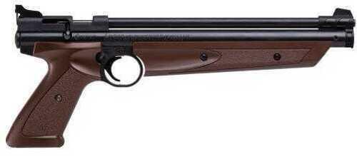 Crosman American Classic Multi-Pump Air Pistol Bolt .177 Caliber, Brown / Black
