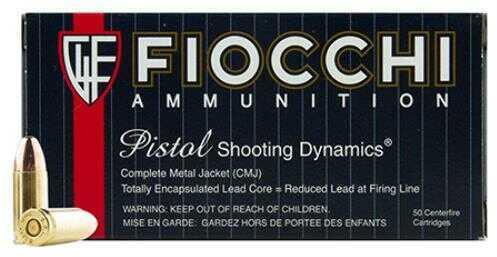 Fiocchi Ammo Fiocchi 9MM 124gr CMJ 50 Rounds 9APBCMJ
