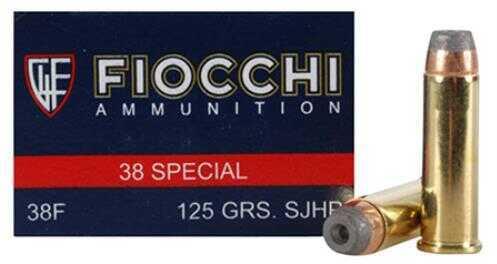 Fiocchi Ammo Fiocchi 38 Special 125gr CMJFP 50 Rounds 38ACMJ
