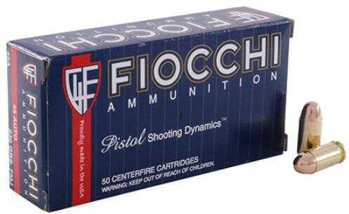 Fiocchi Ammo FIO 45ACMJ5C 45A 230 CMJ 50/10